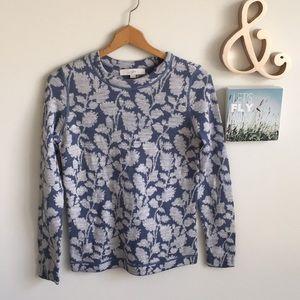 Loft Floral Sweater